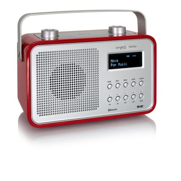 Tangent DAB2go Bluetooth Red High Gloss