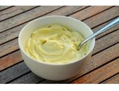 Dukan Diet Mayonnaise recipe 1.5 syns per made recipe Add to carrot cabbage and onion for 0.5 syn coleslaw