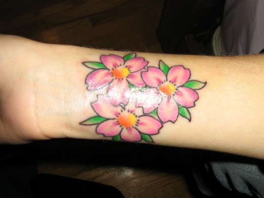 flower tattoo designs for the wrist | Girls Tattoos For Wrists: Popular Tattoos Collection | PhotoFunBlog ...