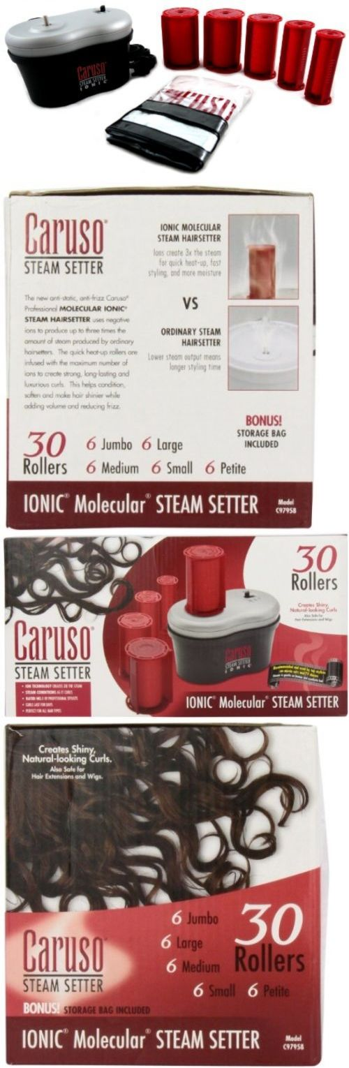 Rollers and Curlers: Caruso C97958 Ion Steam Hairsetter BUY IT NOW ONLY: $54.63