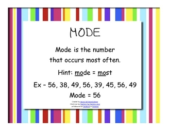 18 best images about Teaching Math- Mean Median Mode Range on ...
