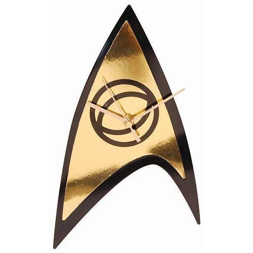 STAR TREK Science Badge Emblem Wall Clock - Geek Decor