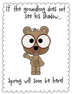 Groundhog Day!- Pinned by @PediaStaff – Please Visit ht.ly/63sNtfor all our pediatric therapy pins