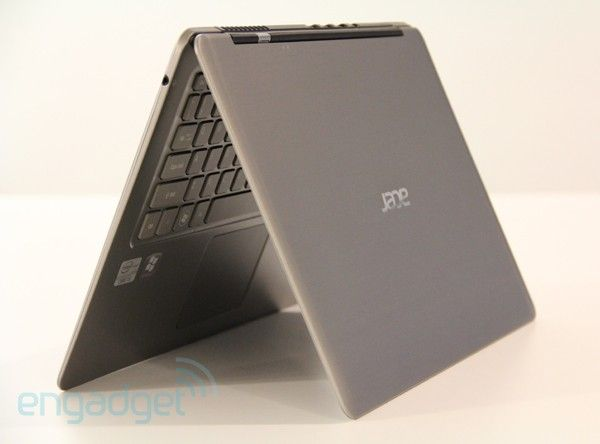 Acer Aspire S3 Ultrabook - Our new home machine