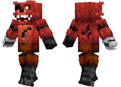 Foxy the pirate fox from Five Nights at Freddy's.