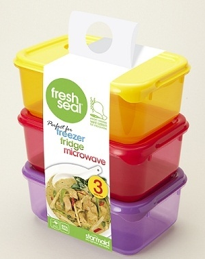 Starmaid' Fresh Seal range comes in a wide variety of colours to delight every member of your family, including pink, red, green, blue, purple, yellow and tangerine. The Fresh Seal range makes food storage simple.