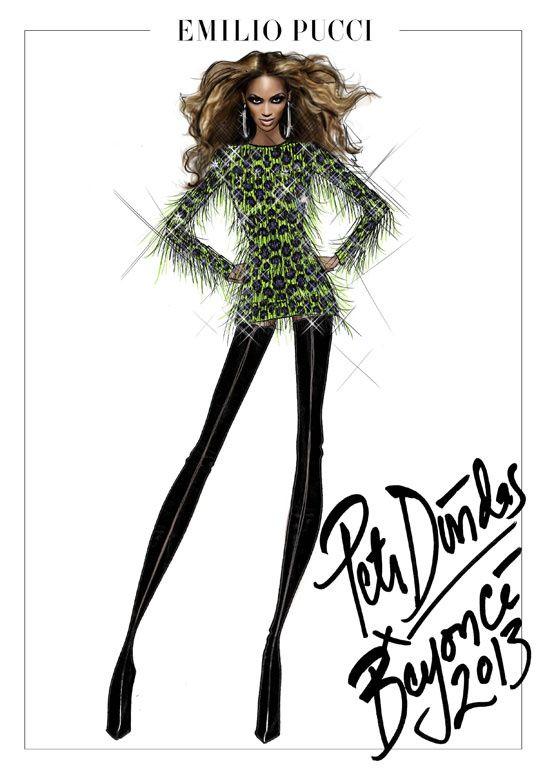 Peter Dundas signe les costumes de scène de Beyoncé