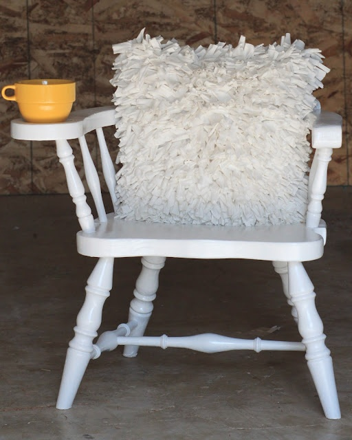 Love this redone chair!