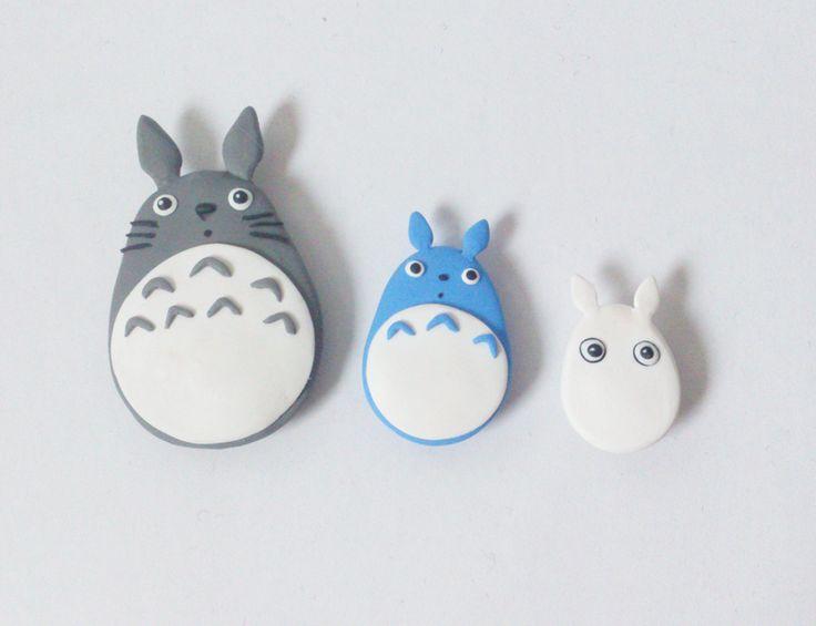 Totoro fridge magnets!