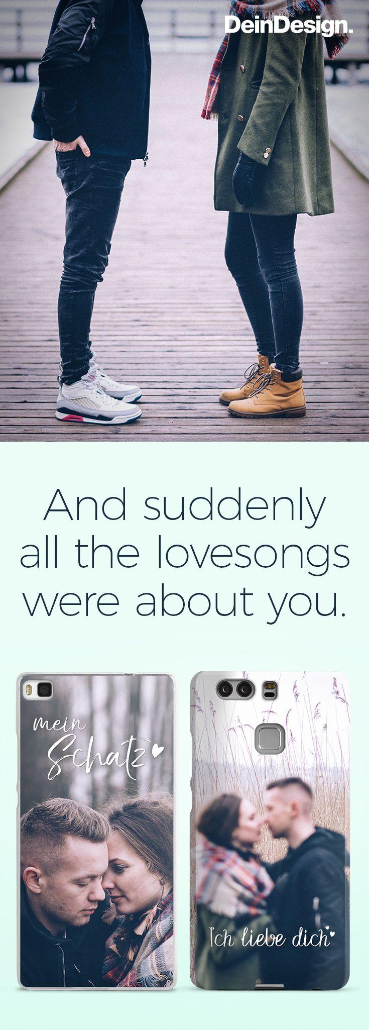 Love Quote / DIY Partner Handyhülle / Phone Case / Selbst gestalten / perfekte Geschenkidee / Valentinstag / Jahrestag / Geburtstag / Weihnachten / Geschenke für ihn / Geschenke für sie