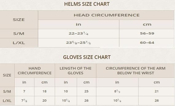 Freeshipping Size Charts Not For Sale Etsy Size Chart Dress Flax Medieval Gambeson