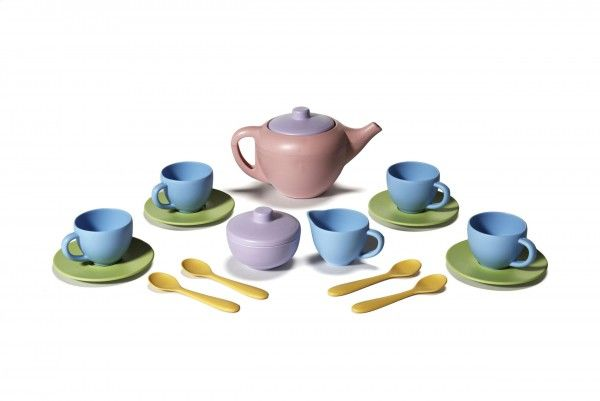 Tea Set by Green Toys | Flying Penguin