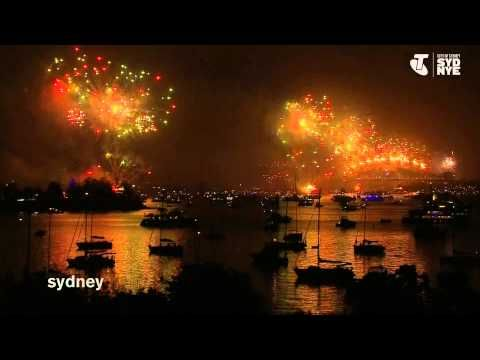 Highlights from the 2014 Sydney NYE FIreworks - www.visitingnsw.com