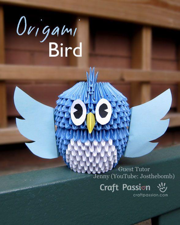 #origami #gufetto
