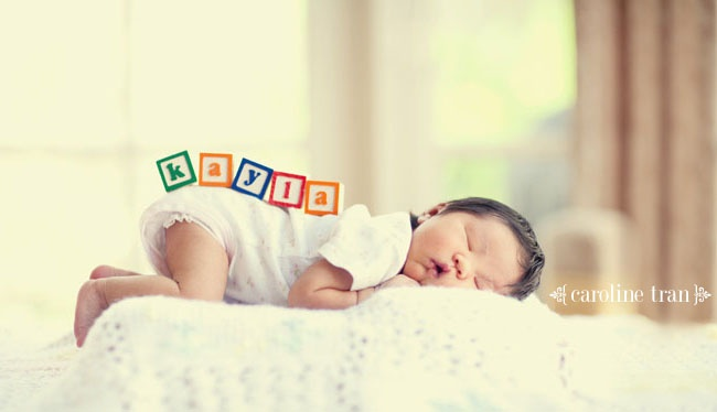cute idea for a newborn photo shoot....