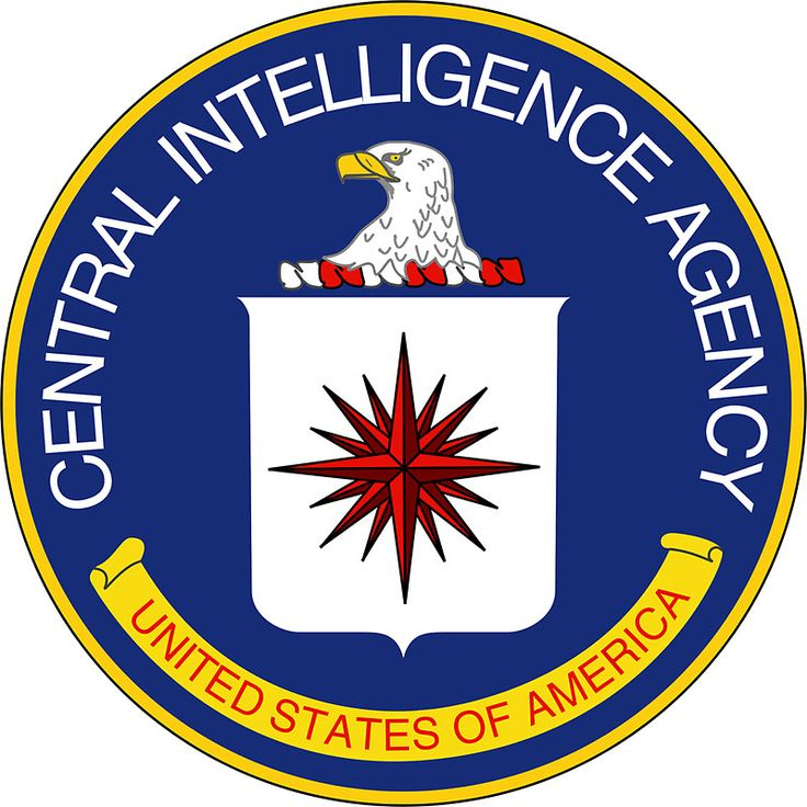 CIA Central Intelligence Agency Seal Sticker