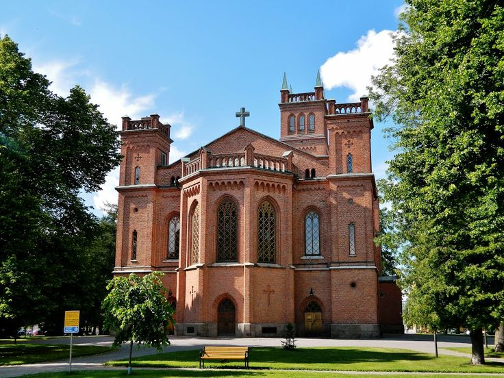 Vaasa Lutheran Church. (Holy Trinity Church, C.A. Setterberg 1862)