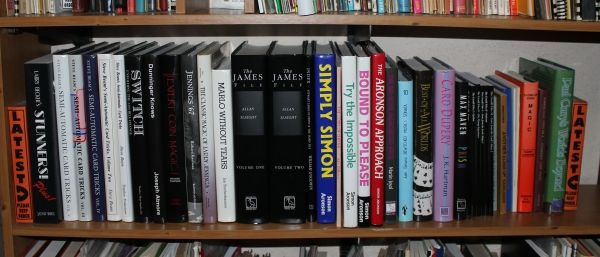 A load of books arrived this afternoon: some great titles, and all in excellent condition, plus a few tasty props. First batch of books now on the shelf. Am preparing a list. Email me if you'd like...