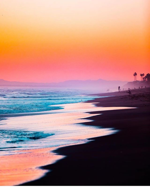 Gorgeous Sunset At Huntington Beach California Picture By Ryanlongnecker Sunset Beach California Huntington Beach California Beach Pictures
