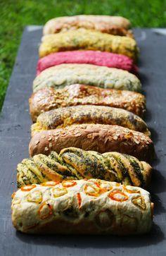 Aprende como cocinar pan de muchos sabores con estas recetas paso a paso. Recetas de panes Cherrytomate