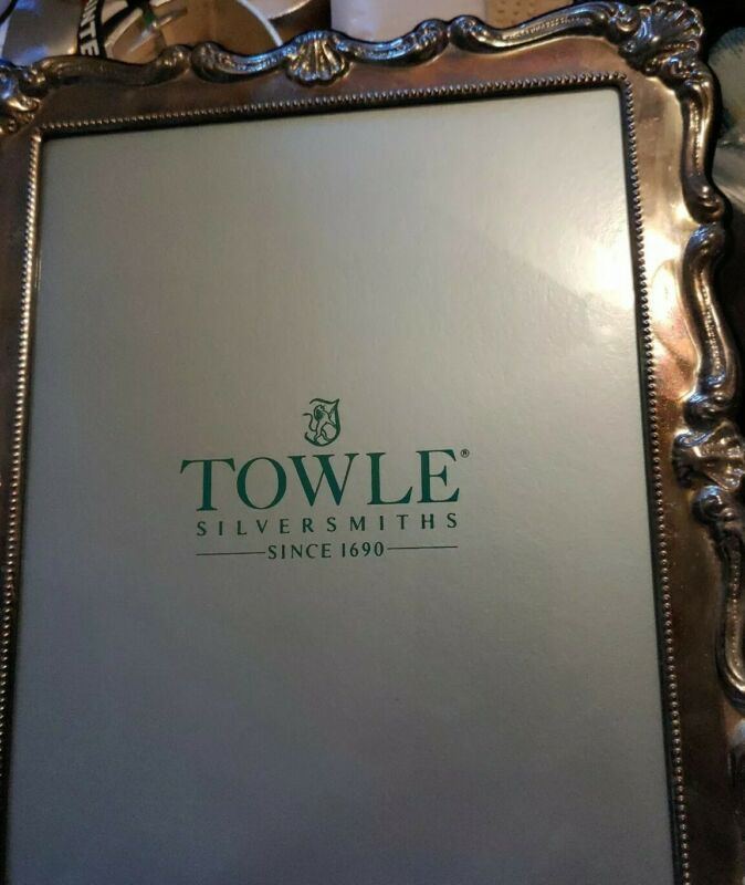 Towle Silversmith Silver Plated Frame Vintage 8 X 10 In 2020 Gold Ornate Picture Frames Plate Frames Frame