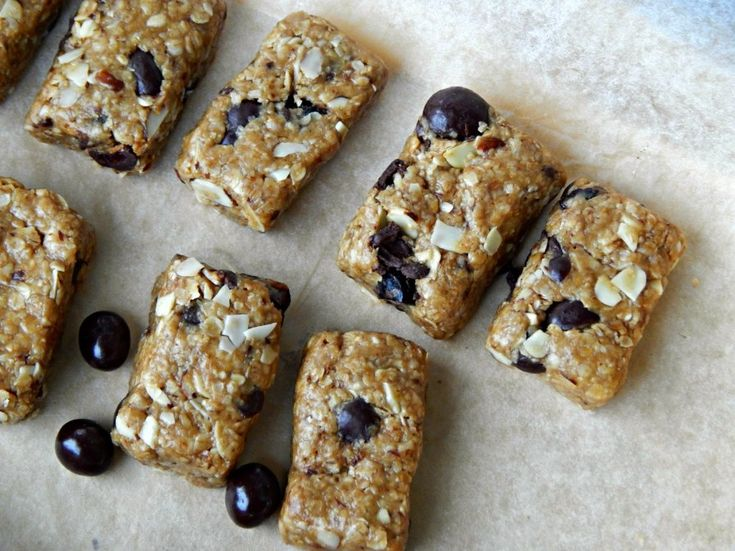 No-Bake DOVE® Fruit Trail Mix Bars - Melissa Kaylene