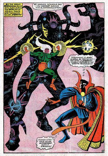 Strange Tales 146 Eternity and Doctor Strange Steve Ditko