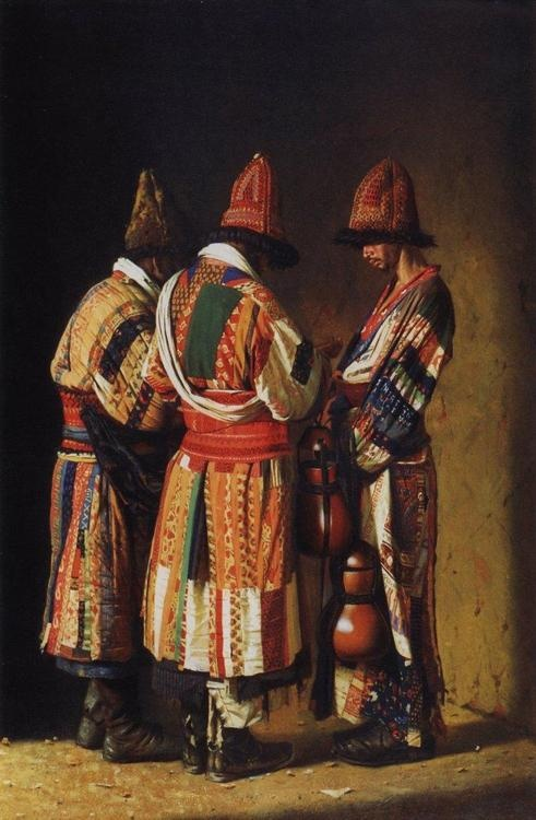'Dervishes' by the Russian painter Vasili Vereshagin reminds me of my new story project 'The Three Princes of Serendip'. Thx to Karin Vlietstra.