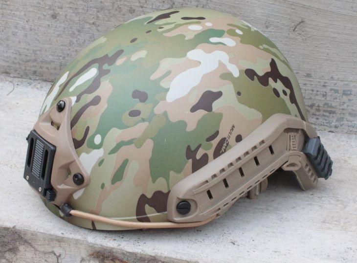 FMA Ballistic casco Airsoft rápido estilo Casco (Multicam) casco de ciclo