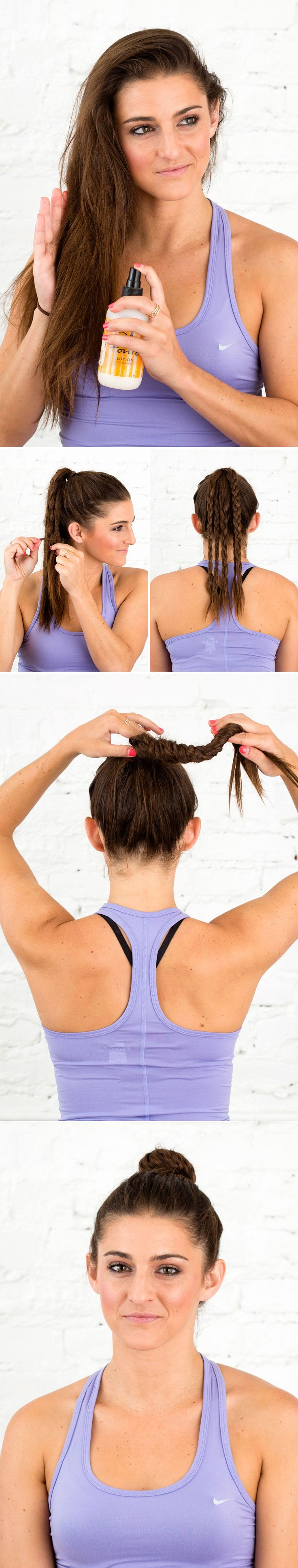 86 best Sporty Hairstyles images on Pinterest