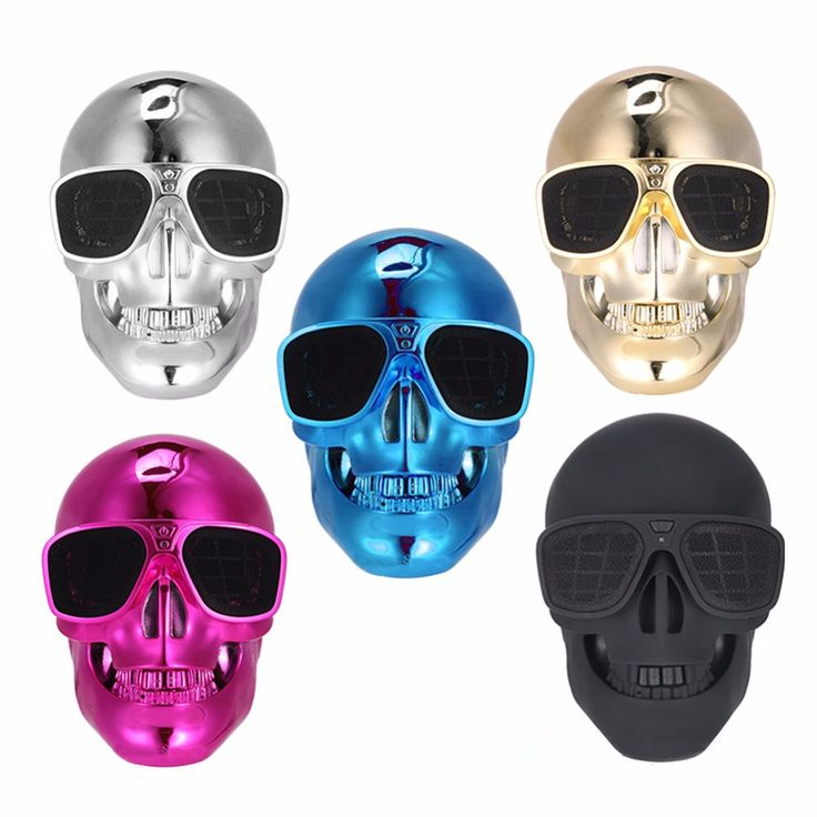 ==> [Free Shipping] Buy Best Portable Bluetooth Skull Speaker 3D Stereo Surround Sound Hand Speaker Spinner Column Audio Music Player Center Accessories Kits Online with LOWEST Price | 32822320238