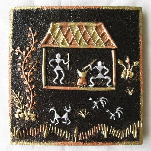 Warli Art key holders