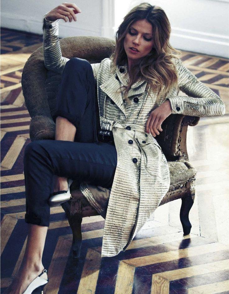 visual optimism; fashion editorials, shows, campaigns & more!: tres en lujo: masha novoselova by xavi gordo for elle spain january 2013