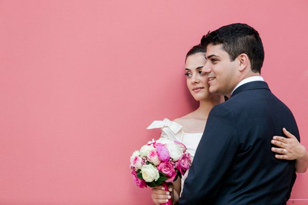 The #wedding_at_City_Hall of Georgia and Manos was very stylish. see more http://www.love4wed.com/wedding-at-city-hall-romantic/