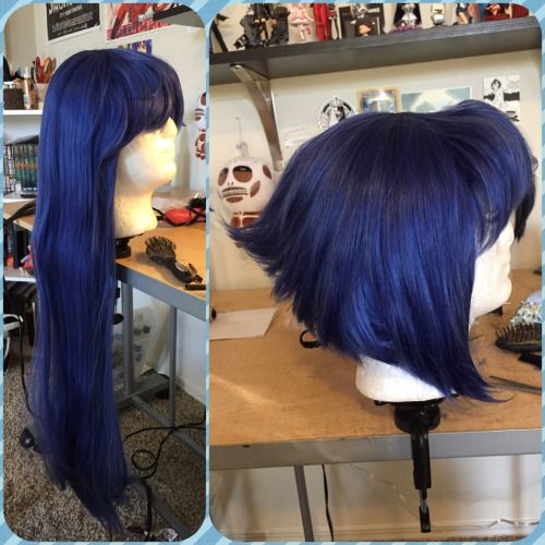 Lapis Lazuli wig for cosplay SU(Steven Universe)