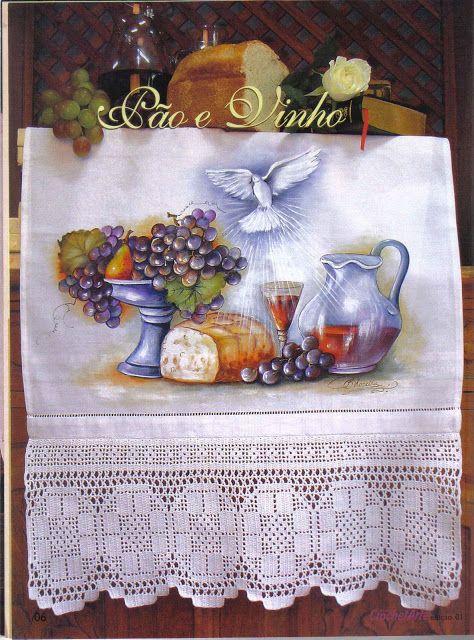 Pintura e Crochê - BIA MOREIRA - Crochet Arte 1 - neo neo - Álbumes web de Picasa