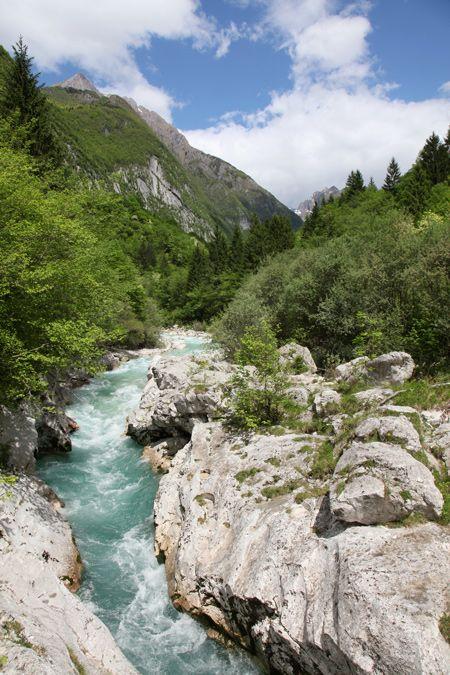 Je ziet gedurende deze wandeling de kleine Koritnica kloof en loopt langs de Sunik, een zijrivier van de Koritnica met een hele mooie rivierbedding met zeer gevarieerde vegetatie.