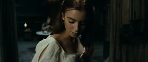 Lily Collins in Priest...