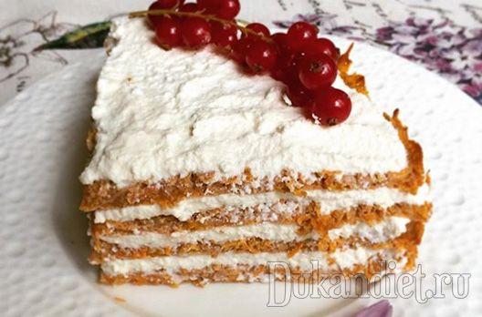 Морковный торт «Объедение» (Чередование)