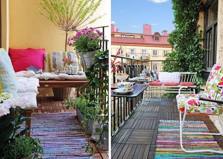 75 best images about jardin on pinterest coins pique and inspiration - Petit jardin balcon ...