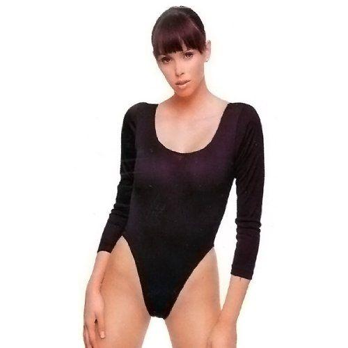 LEG AVENUE BODY DE MANGA LARGA NEGRO PLUS.16'64€