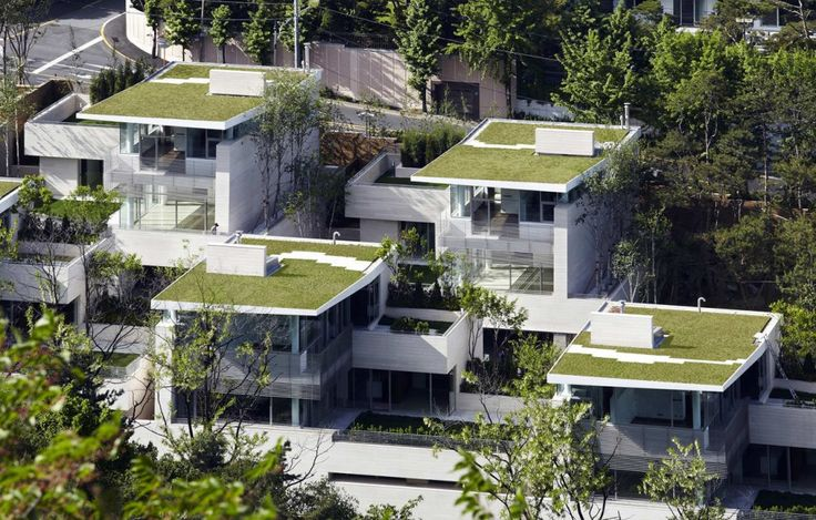 Seongbuk Gate Hills _ Joel Sanders Architect and Haeahn Architecture