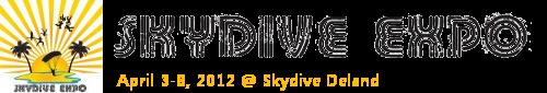 Looking forward to the Skydive Expo in DeLand, Florida April 3-8