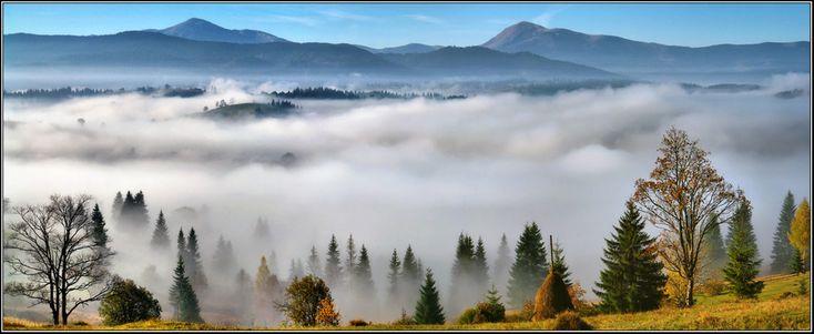 Фотография На долинi туман... / Сергей Галиахметов | Carpathian Mountains | Ukraine