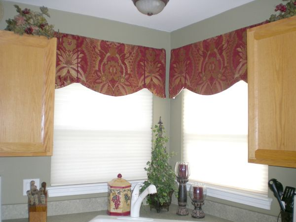 box pleated valances window treatments | Click on any image to enlarge it, or jump to galleries for Draperies ...