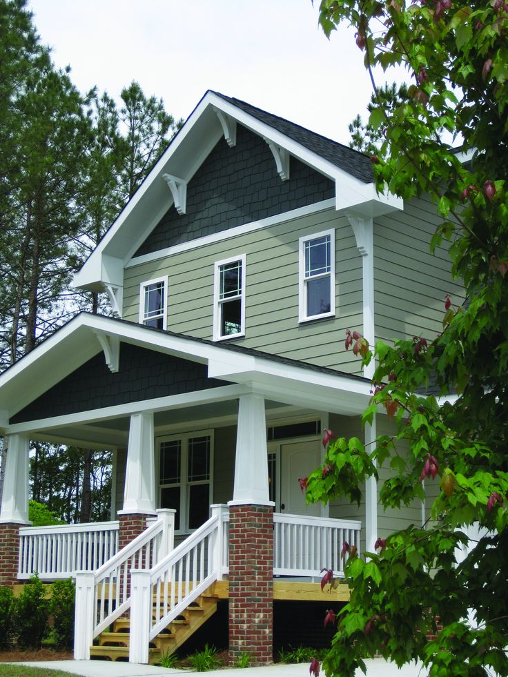 Craftsman Style Home Decorating Ideas: 16 Best Rich Espresso James Hardie Siding Images On