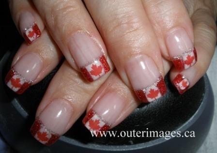 Canada Day Nails | NAILPRO