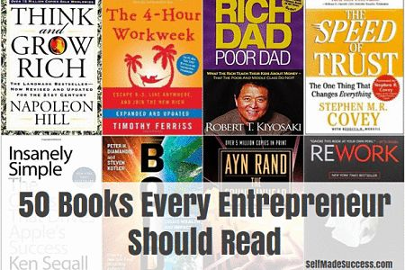 If you are looking for a great reading list full of the top entrepreneurial books, you're in for a treat. Here are 50 books every entrepreneur should read.