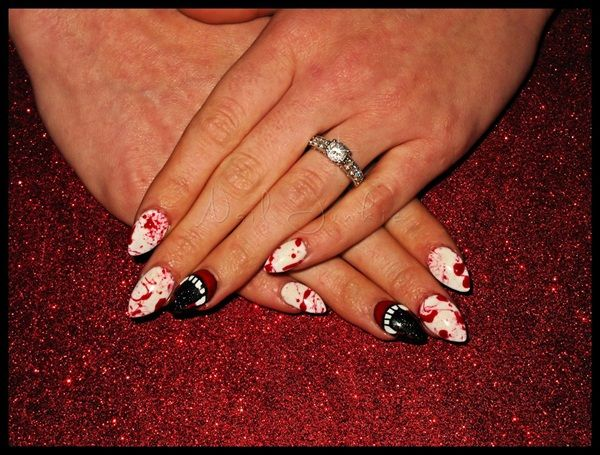 Day 277: A Splattering of October Nail Art - - NAILS Magazine