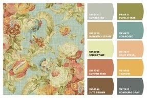 Waverly Fabric Shower Curtains - Foter